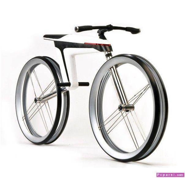 دوچرخه عجیب و بسیار مدرن 2010 عكس