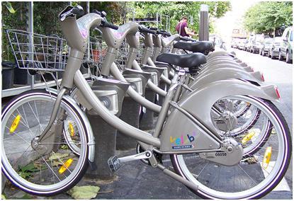 نمونه هايي از سيستمهاي اجرا شده دوچرخه شهري در خارج از كشور