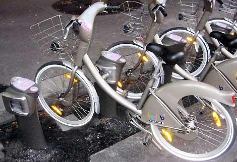 سیستم حمل و نقل با دوچرخه از پاریس تا تهران!