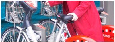 سیستم دوچرخه های اشتراکی Bikesharing در لیون فرانسه (2)