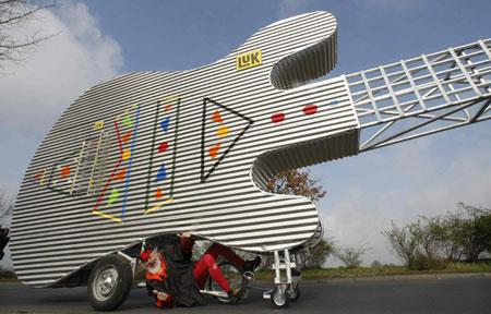 ساخت عجيب ترين دوچرخه جهان در آلمان