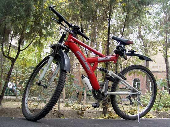 دوچرخه سواری راهی برای خلاصی از صافی کف پا