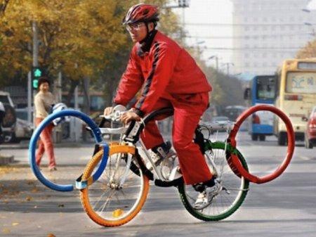 تصاویری از عجیب ترین دوچرخه های جهان 4