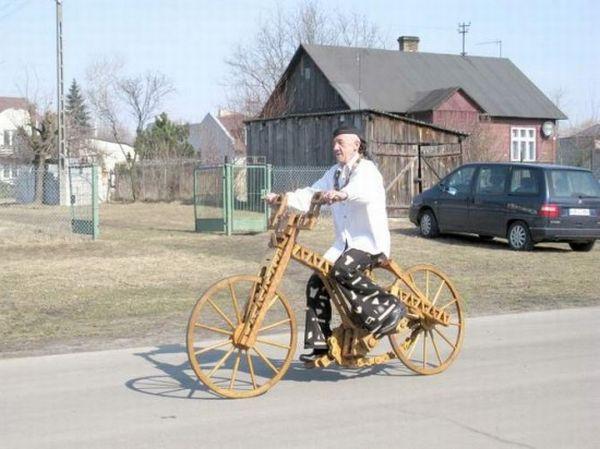 دوچرخه های چوبی