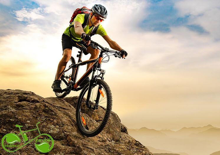 تجربه یک دوچرخه سواری بی خطر در کوهستان